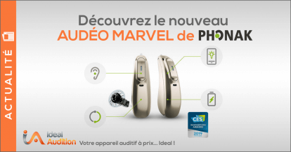 Appareil auditif Audeo Marvel Phonak