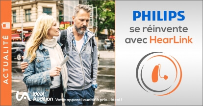 Philips Hearlink, l'aide auditive connectée qui propose un service innovant de situations