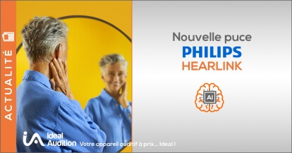 Nouvelle puce Philips Hearlink 2021
