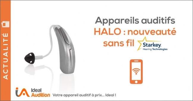 Appareil auditif Bluetooth Halo