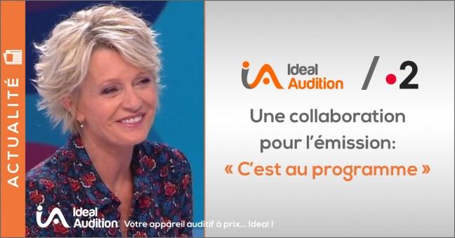 Emission C'est au programme sur France2 sur les prothèses auditives