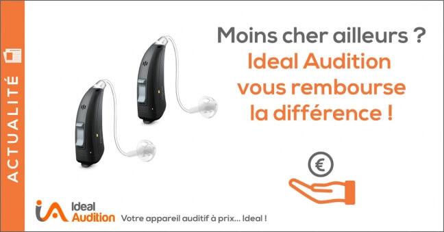 Remboursement de la différence pour vos prothèses auditives