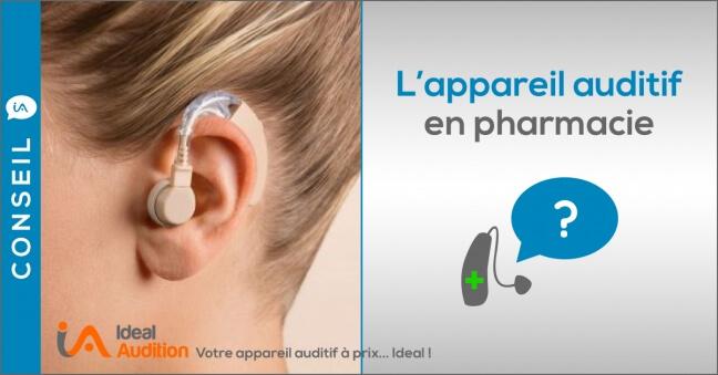 appareil auditif pas cher vendu en pharmacie
