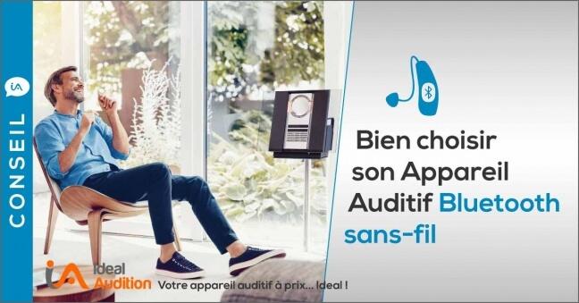 Appareil auditifs bluetooth sans-fil