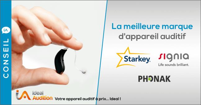 Meilleures marques appareils auditifs